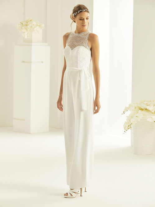 Bridal Jumpsuit - Samantha