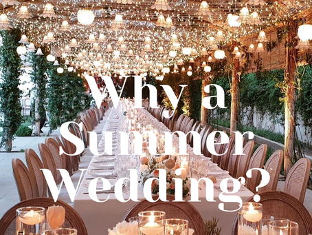 Summer weddings Pro's and Con's