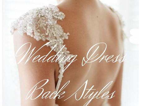 Wedding Dress Back Styles