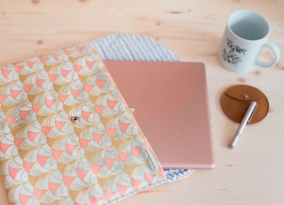 Laurette - La pochette à UltraBook - Douceur d'Hiver