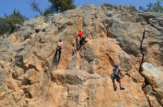 Открываем скалолазный Крым: Никита и Симеиз.