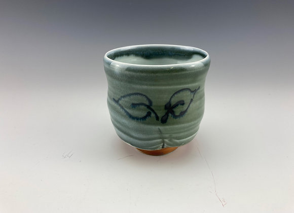Yunomi, blue/green