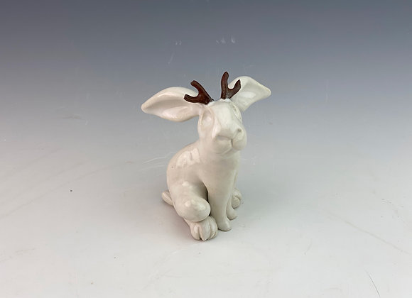 Jackelope Ornament Sculpture