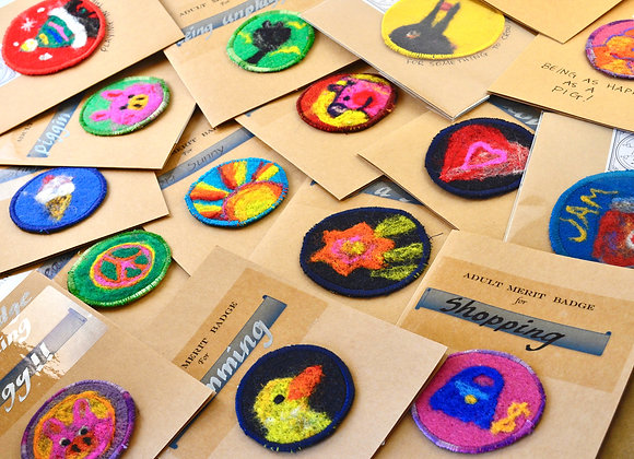 Merit Badge Surprise Bags