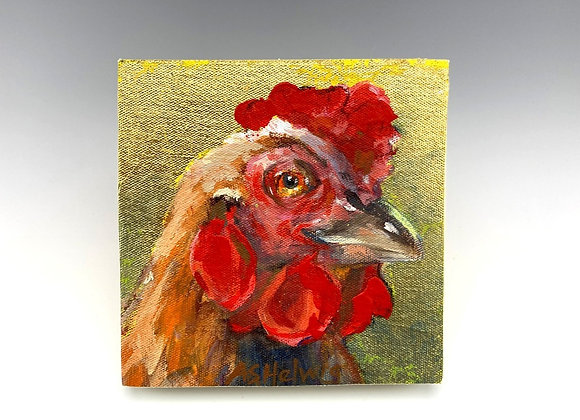 Simple Pleasures Painting, Penny Chicken Icon