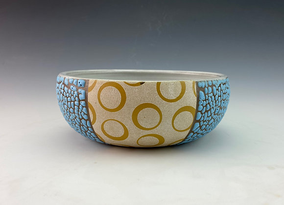 Yellow Dot Bowl