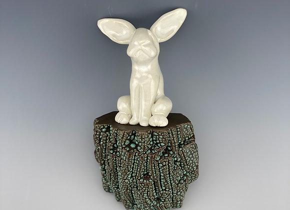 Rabbit Wall Sculpture