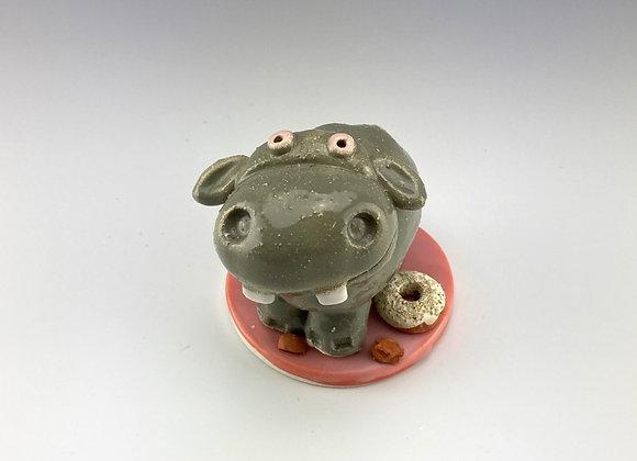 Big Hippo (White Donut)