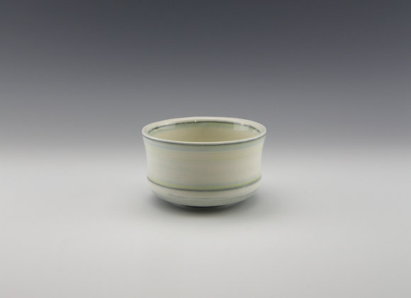 Porcelain tea bowl  9 fl oz