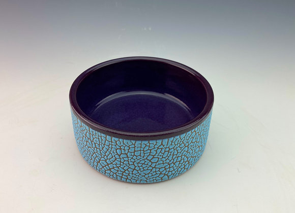 Blue and Purple Ramekin