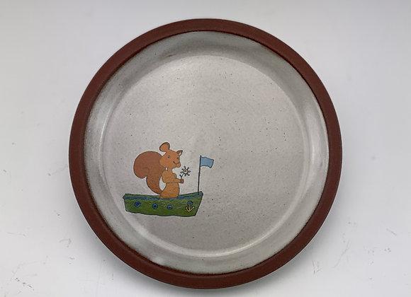 Squirrel Boat Dish