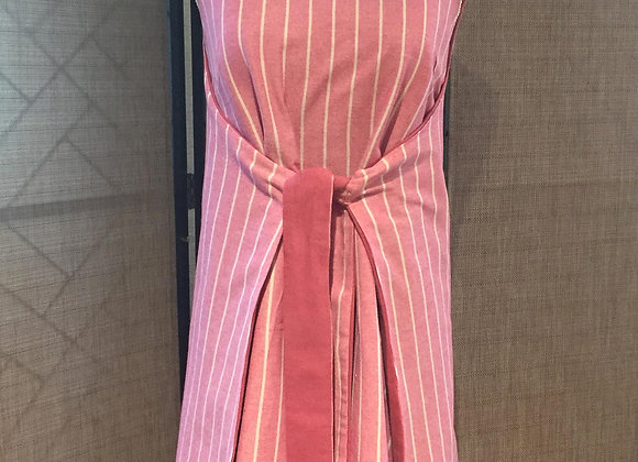 Dress, Stripes and pink