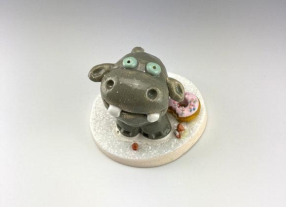 Big Hippo (Pink Donut)