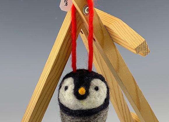 Penguin Felt Ornament