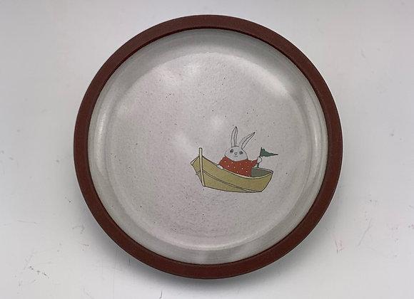 Rabbit Boat Dish