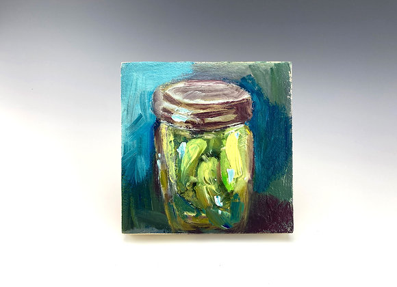 Simple Pleasures Painting, Pickles