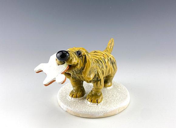 Golden Retriever Puppy (Gingerbread)