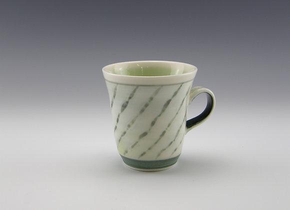 Porcelain mug   8 fl oz