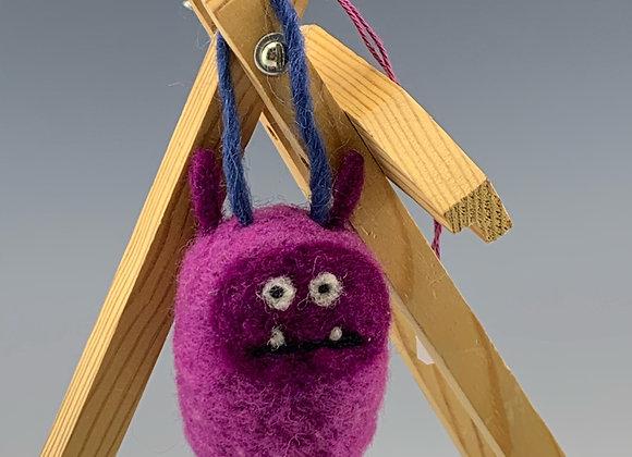 Monster Felt Ornament