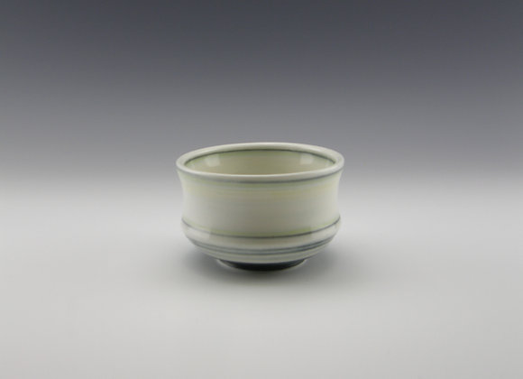 Porcelain tea bowl  9 fl oz