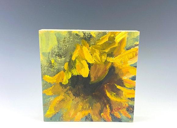 Simple Pleasures Painting, Sunflower