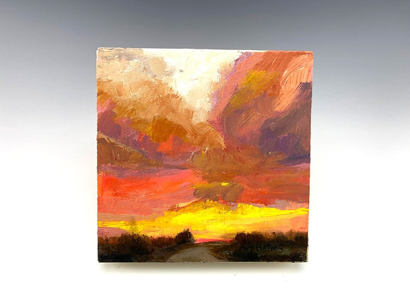 Simple Pleasures Painting, Pathway to Brighter Future