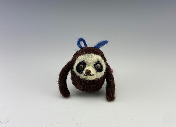 Sloth Felt Ornament