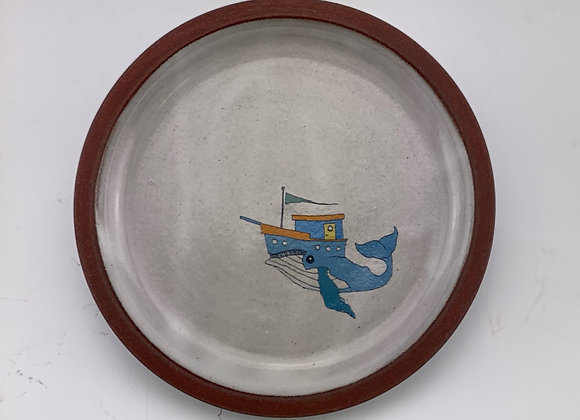 Whale Boat Dish