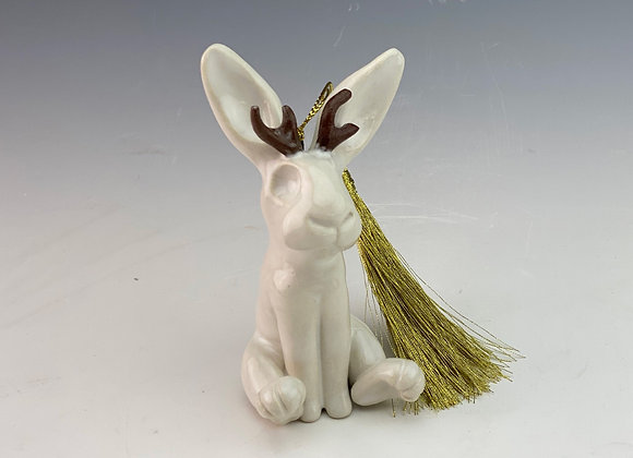 Jackelope Ornament Sculpture