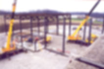 Commercial Construction Steel Erection