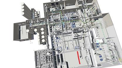 Rendering-BIM modeling software