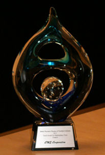 CME honored for the Torch Award by the BBB
