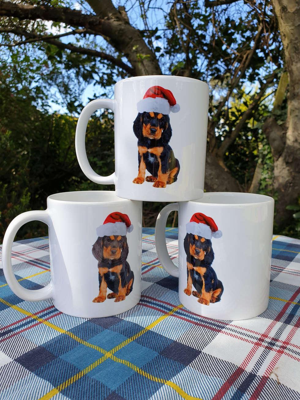 Mug, (Christmas puppy)£10.50