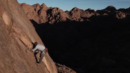 GQ magazine visited me in the Sinai Desert. - Egypt