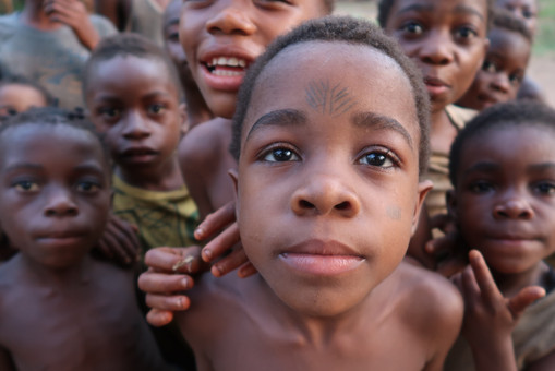 Congolese Mbendjele Children