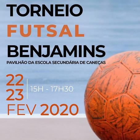 Mini Torneio de Futsal Benjamins