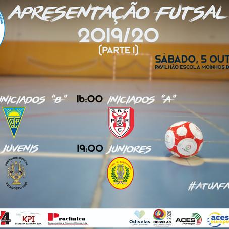 Apresentação Oficial Futsal 2019/20 (parte 1)