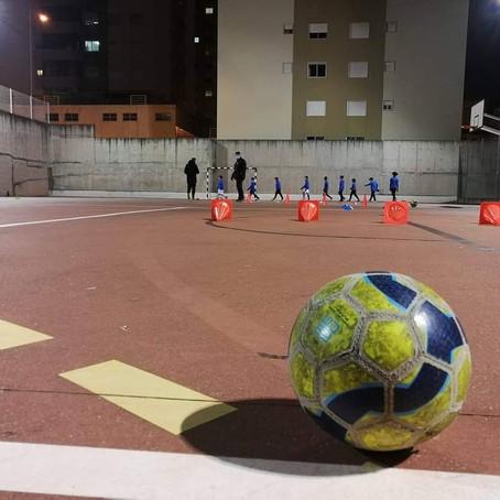 Regresso aos treinos de Futsal