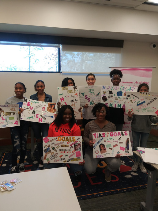 Teen Vision Board Workshop 2019