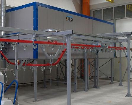 АТБ Пром. Печь полимеризации колпакового типа с электрическим теплогенератором HiTTER E