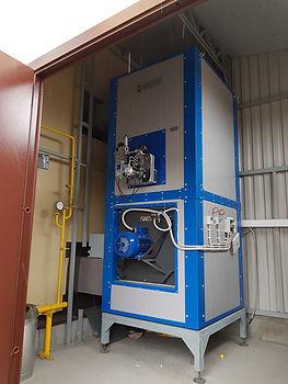 Воздухонагреватель на природном газе HiTTER G от Российского производителя АТБ Пром