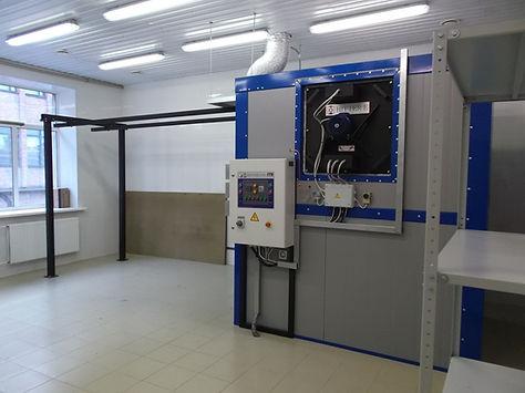 Печь полимеризации HiTTER панелей приборов двойного назнвачения
