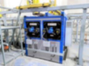 Двухсекционная печь сушки HiTTER E от влаги в гальваническом комплексе