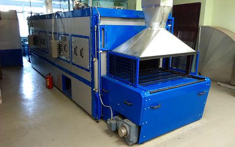 Тактовая печь сушки HiTTER органоразбавляемых красок