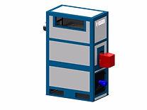 Дизельный теплогенератор печи полимеизации