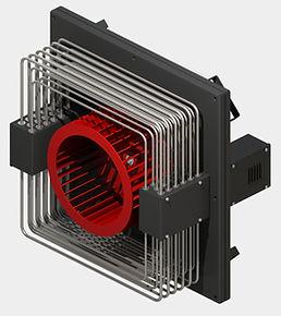 HiTTER E - электрический воздухонагреватель