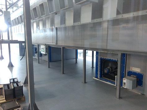 Конвейерная печь полимеризации на дизельном топливе HiTTER D
