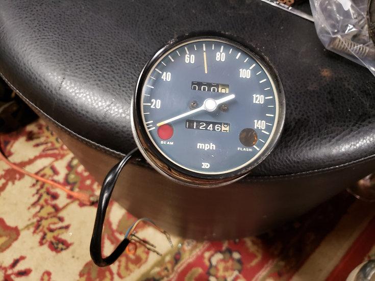 Stock Style Speedometer