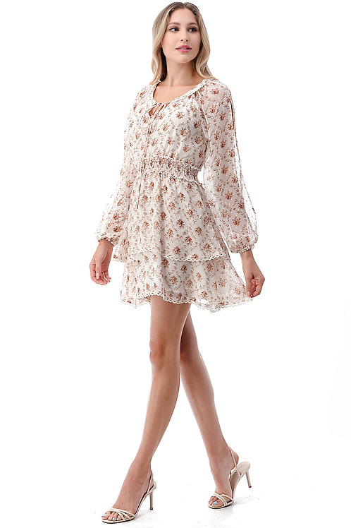 70343 ivory floral ($24/ piece)