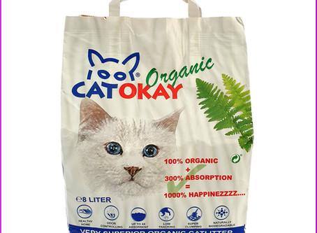 CatOkay Organic Katzenstreu